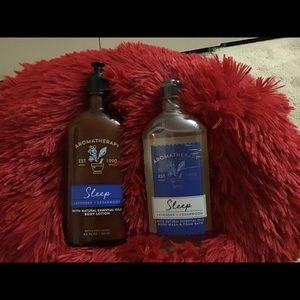 BBW Aromatherapy Body lotion & Body wash. New..